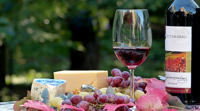 lekker rode wijn
